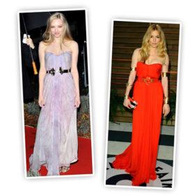 Sienna Miller – Amanda Seyfried: Ποια φόρεσε το Alexander McQueen καλύτερα;