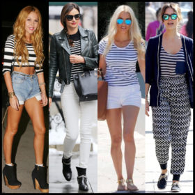 Breton chic: Φορέστε τη μαρινιέρα όπως οι celebrities
