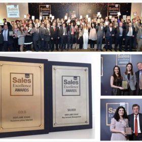 Oriflame: 2 ακόμη μεγάλες διακρίσεις στα Sales Excellence Awards 2014