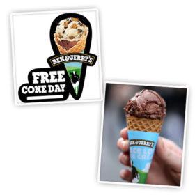 Υπάρχει Ημέρα Δωρεάν Παγωτού και τη γιορτάζουμε!