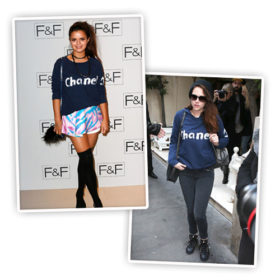 Kristen Stewart – Bip Ling: Ποια φόρεσε το Chanel φούτερ καλύτερα;