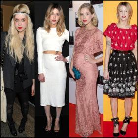Peaches Geldof: Οι στυλιστικές της επιλογές κατά τη διάρκεια των τελευταίων χρόνων