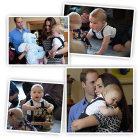 Πρίγκιπας George: Το βασιλικό μωρό κλέβει τις καρδιές όλων στα πρώτα του καθήκοντα