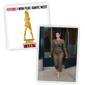 Ποιος χαρακτηρίζει την Kim Kardashian τρόπαιο;