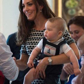 Fashion icon είναι και ο μικρός πρίγκιπας George
