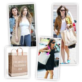 Οι celebrities χρησιμοποιούν οικολογικές τσάντες στην καθημερινότητά τους
