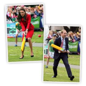 Kate Middleton: Παίζει κρίκετ με τον σύζυγό της φορώντας και πάλι τα ίδια ρούχα