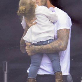 David Beckham: Δεν πηγαίνει πουθενά χωρίς την κόρη του