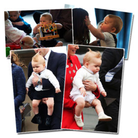 Πρίγκιπας George: Οι πιο χαριτωμένες στιγμές της βασιλικής του περιοδείας