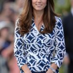 The Duke and Duchess of Cambridge visit Echo Point, wrap dress, DVF, sold out