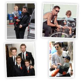Η πιο ωραία σχέση: Διάσημοι μπαμπάδες με τους διάσημους γιους