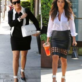 Kourtney Kardashian – Kris Jenner: Μαμά ή κόρη φόρεσε τις γόβες καλύτερα;