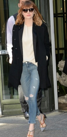 Emma Stone, ny, tzin, look of the day