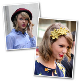 Taylor Swift: Παραδίδει μαθήματα hair accessorizing