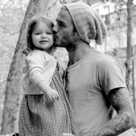 So cute! Ο David Beckham έκανε το καλύτερο δώρο στην κόρη του Harper