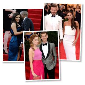 Το κόκκινο χαλί θέλει δύο: Δείτε τα πιο λαμπερά ζευγάρια του Met Gala 2014