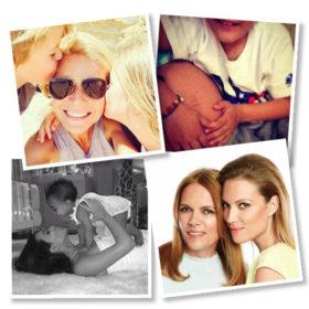 Luv u mum! Οι celebrities με τα παιδιά και τις μαμάδες τους στο Instagram
