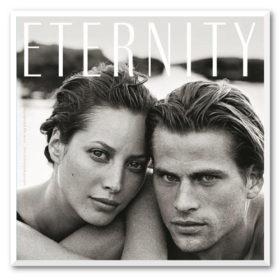 H Christy Turlington και ο Calvin Klein γιορτάζουν τα 25 χρόνια κυκλοφορίας του Eternity