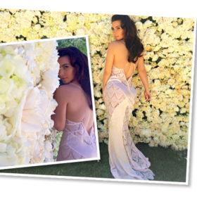 Kim Kardashian: Λίγο πριν τον γάμο ποζάρει ντροπαλή φορώντας see through