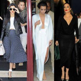 Just Married: Δείτε τα καλύτερα looks των Kardashians από τον πολυήμερο εορτασμό του γάμου της Kim