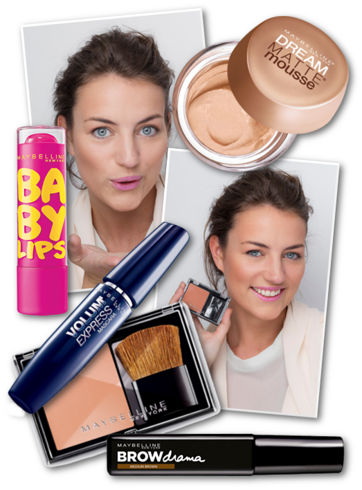 FINISHED LOOK  MAYBELLINE NEW YORK PERFECT NUDE MAGDA ANASTASOPOULOU