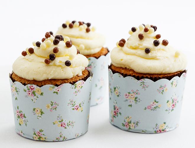 cupcakes me krema lemoni