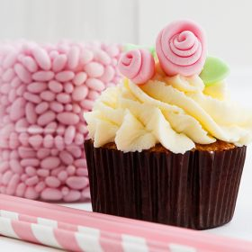 Chocolate Cupcakes με κρέμα