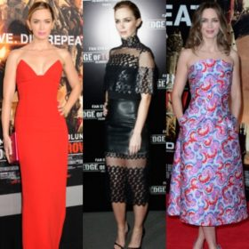 Emily Blunt: Άλλαξε τρία φορέματα μέσα σε μία μέρα