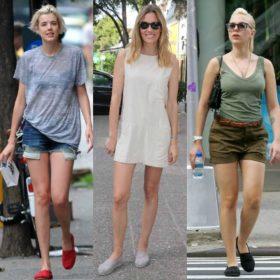 Ποιες celebrities είδαμε να φοράνε τις διάσημες εσπαντρίγες ΤΟΜS;