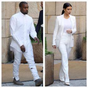 Ο γάμος τους πάει πολύ: Η Kim Kardashian και ο Kanye West ντυμένοι στα λευκά