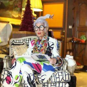 Η Iris Apfel ντύνεται για τον Henri Matisse