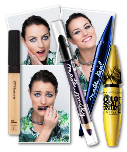 maybelline look 3products