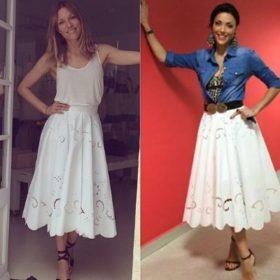 Ποια το φόρεσε καλύτερα; Η Βίκυ Καγιά ή η Σίσσυ Φειδά;