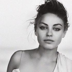 Mila Kunis: «Ο Ashton θα είναι δίπλα μου κατά τη διάρκεια του τοκετού»