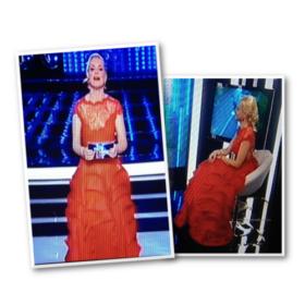 Τι φόρεσε η Μαρία Μπεκατώρου στον τελικό του #ΥFSF;