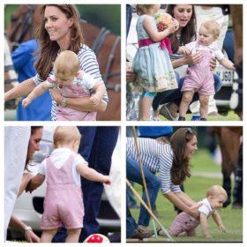 Πρίγκιπας George: Ο γιος της Kate Middleton έκανε τα πρώτα του βήματα