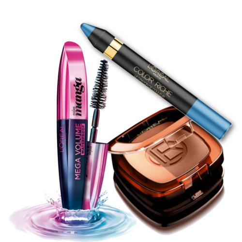 loreal products summer look