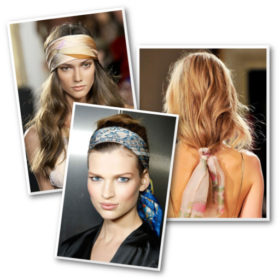 Μαντήλι στα μαλλιά: 6 τρόποι για να το φορέσετε