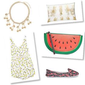 Shopping Guide: Μην τρώτε τα φρούτα, φορέστε τα