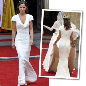 Pippa Middleton: Τρία χρόνια μετά το βασιλικό γάμο μίλησε για το αποκαλυπτικό της φόρεμα