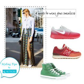 Styling tips by Netrobe.com: Πώς θα φορέσετε τα sneakers σας με τον καλύτερο τρόπο;