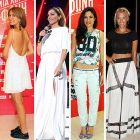 Διαβάστε τι φόρεσαν οι Ελληνίδες celebrities στη χθεσινή συναυλία στο ΟΑΚΑ