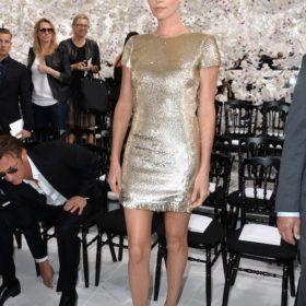 H Charlize Theron με Christian Dior