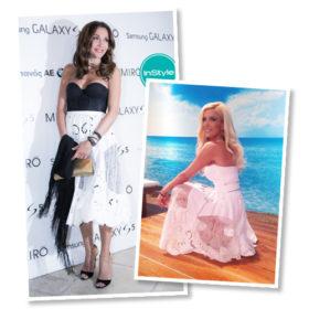 Ποια το φόρεσε καλύτερα: Η Δέσποινα Βανδή ή η Κατερίνα Καινούργιου;
