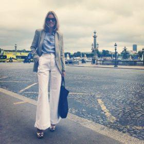 Βίκυ Καγιά: Για ποιο λόγο ταξίδεψε έως το Παρίσι μαζί με τον αγαπημένο της;