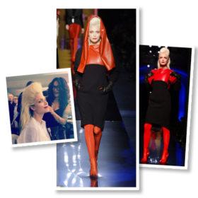 Η Βίκυ Καγιά περπάτησε στο show του Jean Paul Gaultier