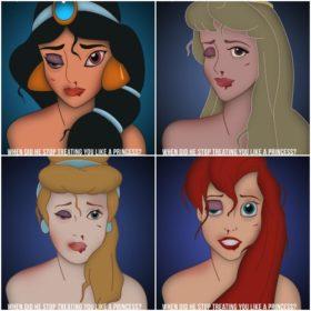 Happily Never After: Ακόμα κι οι πριγκίπισσες της Disney μπορούν να γίνουν θύματα βίας