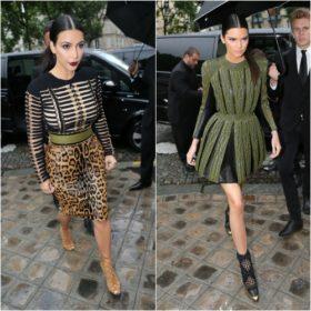 Οι αδερφές Kardashian κλέβουν την παράσταση στην Εβδομάδα Μόδας