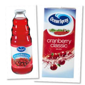 Ocean Spray Cranberry Classic: Ο ιδανικός σύμμαχος για την αποτοξίνωση του οργανισμού