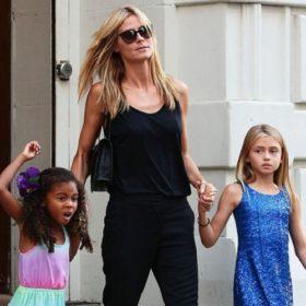 Heidi Klum: Δείτε τις μικρές κόρες της με ψηλοτάκουνα